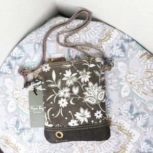 🆕Myra Bag Brown Floral Crossbody Bag Small Purse